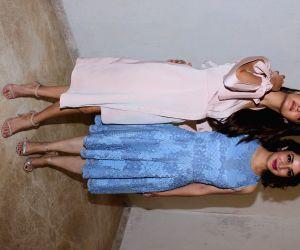 "Pres conference of film ""Chhuri"" - Surveen Chawla and Tisca Chopra"