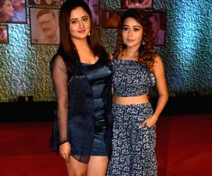 "Premiere of Ekta Kapoor's AltBalaji web series ""Home"" - Tina Dutta and Rashami Desai"