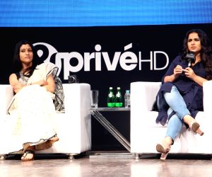 Launch of new channel '& Prive HD' - Vidya Balan, Konkona Sen Sharma
