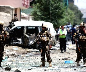 AFGHANISTAN-KABUL-SUICIDE CAR BOMBING