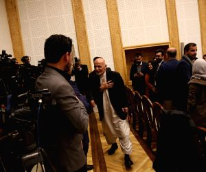 AFGHANISTAN-KABUL-PRESIDENT-TALIBAN-PRECONDITION-REJECTION