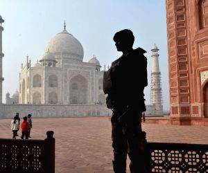 Security beefed-up at Taj Mahal