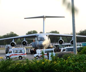 IAF plane airlifts accident victims