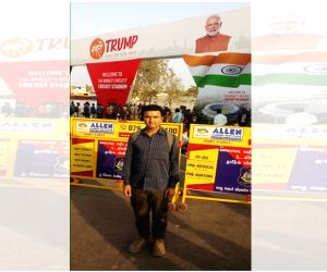 Ahmedabad's 'Namaste Trump' mood attracted outsiders too