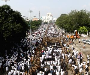 AIADMK procession to pay tribute to Jayalalithaa