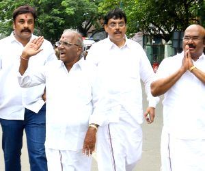 E. Madhusudhanan files nomination papers