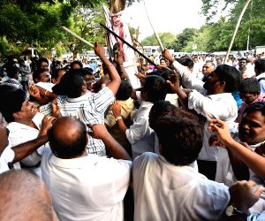 Demonstration against Sri Lankan Government