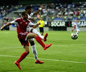 AZERBAIJAN BAKU EURO LEAGUE FOOTBALL