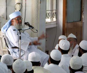 AIMPLB spokesperson Rahman Sajjad Nomani at Akbari Masjid Malakpet