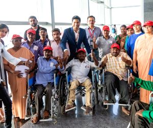 AirAsia sponsored free tickets to a group of 43 physically challenged