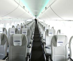Airbus flies 150-seat jet to Bengaluru for demo