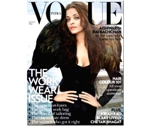 Aishwarya once again on Vogue cover