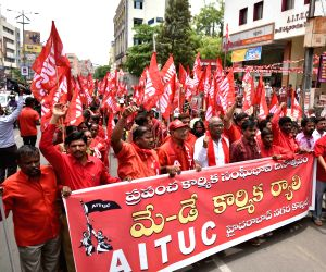 International Workers' Day  - AITUC