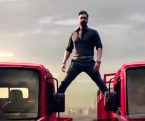 Ajay Devgn to Anand Mahindra: Was great shooting truck stunt commercial