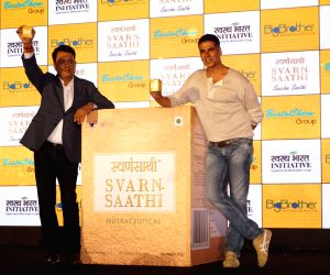 Akshay Kumar at Swarn Sathi Gutka launch