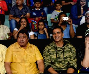 Akshay Kumar watching the Pro Kabaddi League match