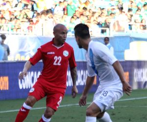 Guatemala V/S Cuba - Group A soccer game