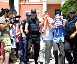 GREECE ALEXANDROUPOLIS TURKEY MILITARY OFFICERS COURT