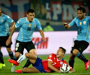 CHILE-SANTIAGO-COPA AMERICA-CHILE VS URUGUAY