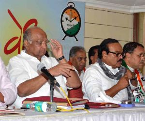 Sharad Pawar during a NCP programme