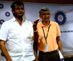 : (110216) Mumbai: Sandeep Patil during a meeting
