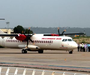 Alliance Air commences flights from Kochi naval air base