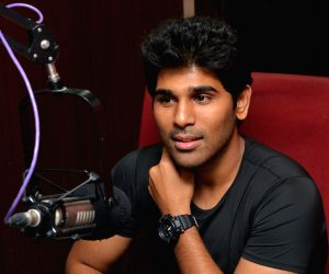 Allu Sirish at Red FM 93.5 SriRastu Subhamastu