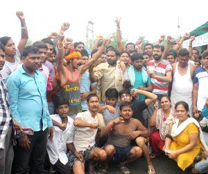 Amarnath Yatra pilgrims' demonstration