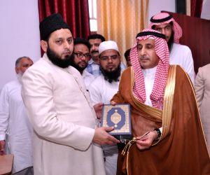 Saudi envoy meets Sunni cleric
