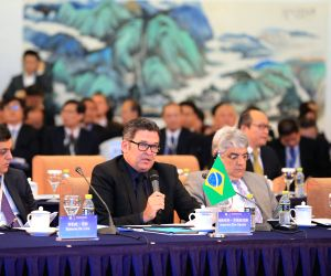 CHINA-BEIJING-BRICS MEDIA SUMMIT