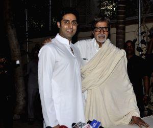 Amitabh Bachchan shares letter by child Abhishek