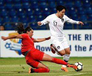 JORDAN AMMAN FOOTBALL WOMEN'S ASIAN CUP PHI KOR