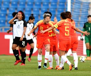 JORDAN-AMMAN-SOCCER-AFC WOMEN'S ASIAN CUP-CHINA-THAILAND