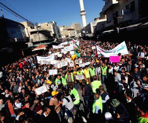 Amman (Jerusalem): Jordanians protest against Israel's recent entry restrictions to the Old City