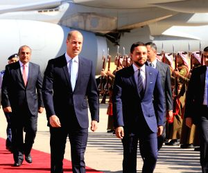 JORDAN-AMMAN-UK-PRINCE WILLIAM-VISIT