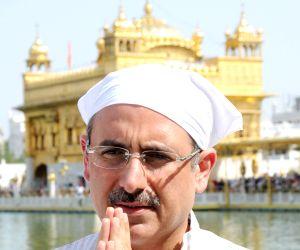 Nalin Kohli at Golden Temple