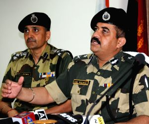 Heroin recovered by BSF