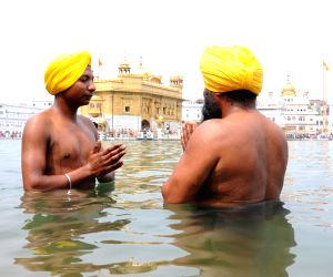Baisakhi celebration at Golden Temple