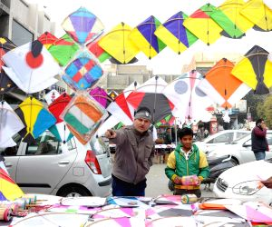 Kites on sale ahead of Lohri