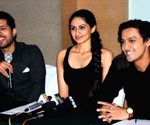 Press conference of serial 'Everest'