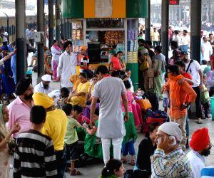 People stranded at Amritsar railway station