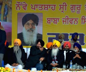Punjab CM during a programme organised in the memory of Baba Jeevan Singh