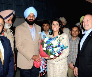 Punjab Minister with Nikki Haley