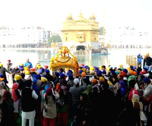 Celebration at Golden Temple