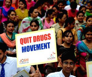 Anti-drugs rally