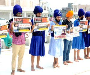 Demonstration against Nanak Shah Fakir
