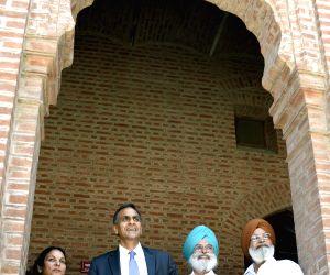 Richard Verma during his visit to Amritsar