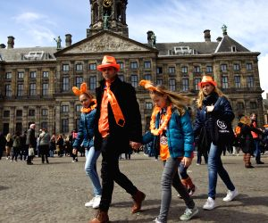 NETHERLANDS AMSTERDAM KING'S DAY