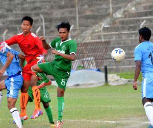 10th NN Bhattacharya Football Tournament - Kamrup Football Club vs N.F. Railway Sports Club