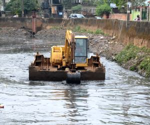 Desilting of Bharalu channel
